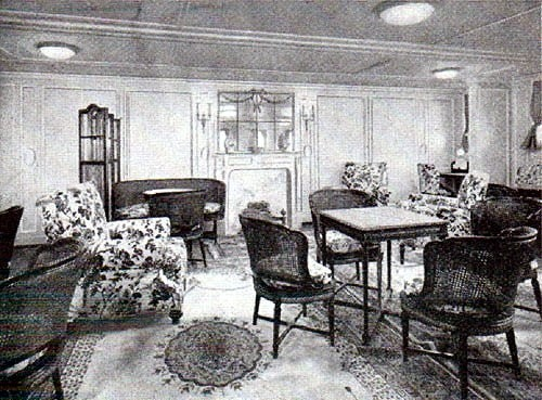 RMS Baltic Drawing Room 1903
